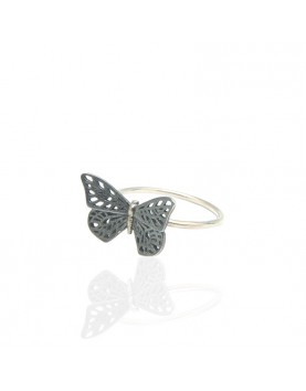 Anillo BUTTERFLY Plata