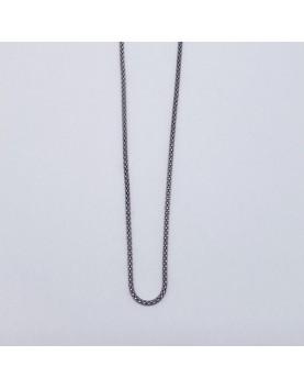 Cadena plata 80cm