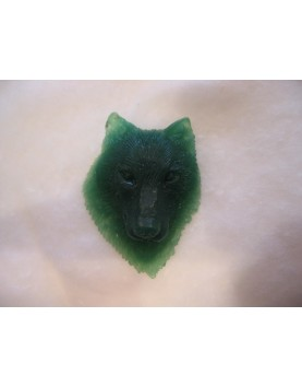 Cabeza de lobo modelado en...
