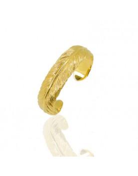 Bracelet PLUME vermeil 18kt